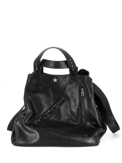 Женская всесезонная сумка ash черная Артикул 6ah.ah58785.т в интернет магазине итальянских сумок ASHRUSSIA.RU