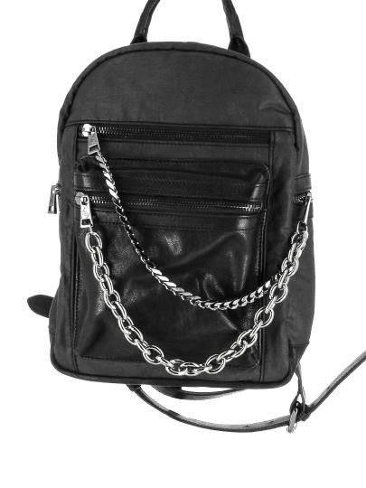 Женский всесезонный рюкзак ash черный Артикул 6ah.ah58775.т в интернет магазине итальянских сумок ASHRUSSIA.RU