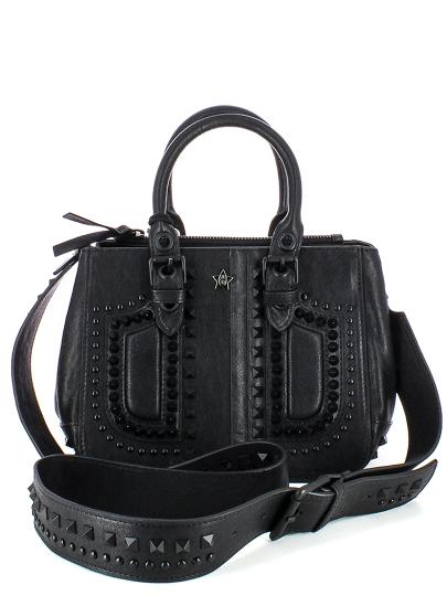 Женская всесезонная сумка ash черная Артикул 6ah.ah58788.т в интернет магазине итальянских сумок ASHRUSSIA.RU