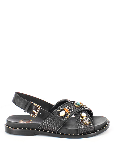Женские летние сандалии ash maya черные | 7ah.ah63703.k купить в официальном магазине AshRussia.ru