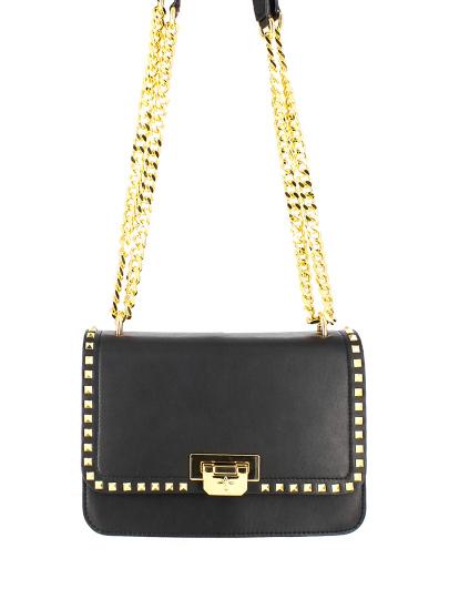 0ae4192124c7 Женская демисезонная сумка ash черная Артикул 7ah.ah63094.т в интернет  магазине итальянских сумок ASHRUSSIA.RU