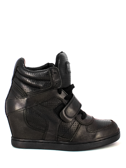Женские демисезонные кеды ash cool,кеды женские,кожа _черный черные   8ah.ui25234ll купить в официальном магазине AshRussia.ru