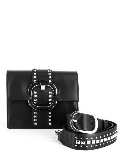 Женская летняя сумка ash черная Артикул 5ah.ah58138. в интернет магазине итальянских сумок ASHRUSSIA.RU