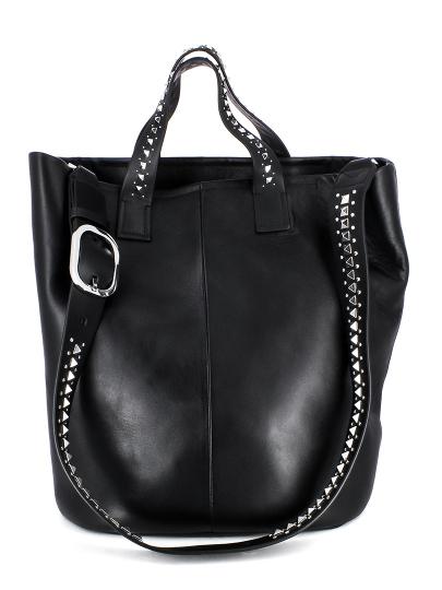 Женская всесезонная сумка ash черная Артикул 5ah.ah54124. в интернет магазине итальянских сумок ASHRUSSIA.RU