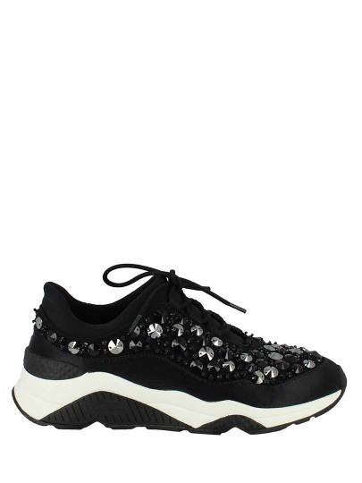 Женские демисезонные кроссовки ash muse beads (ss17-s-118319-001),кроссовки женские,текстиль _черный черные   5ah.ah53057.т купить в официальном магазине AshRussia.ru