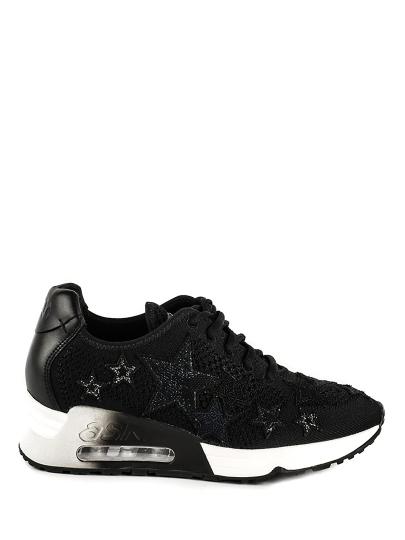 Женские демисезонные кроссовки ash lucky star (ss17-s-120118-003),кроссовки женские,текстиль/кожа _черный черные | 5ah.ah58241.т купить в официальном магазине AshRussia.ru