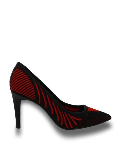 Женские летние туфли ash cyrus (ss16-m-112861-001),туфли откр. женские,текстиль/кожа черный/красный красные | 3ah.ah48053.т купить в официальном магазине AshRussia.ru