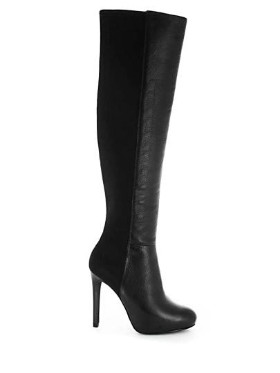 Женские демисезонные сапоги ash betsy(fw14-m-105408-001),сапоги женские,кожа/текстиль черный черные | 0ah.ah35912.k купить в официальном магазине AshRussia.ru