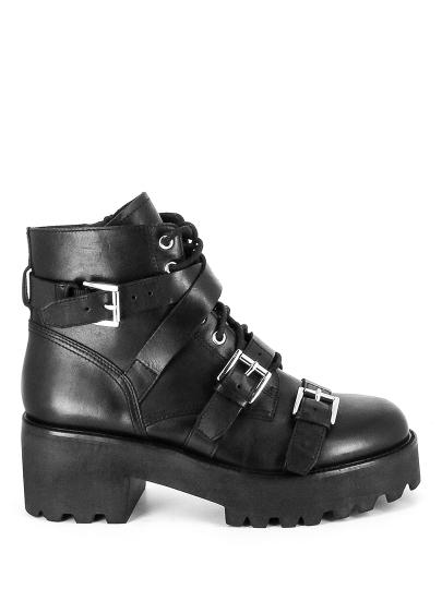 Женские демисезонные ботинки ash razor fw17-m-119518-001,ботинки женские,кожа _черный черные | 6ah.ah58758.k купить в официальном магазине AshRussia.ru