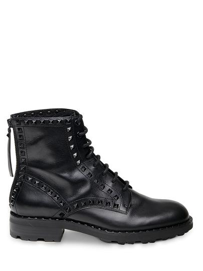Женские демисезонные ботинки ash wolf fw18-m-125462-001,ботинки женские,кожа черный черные | 8ah.ah69118.k купить в официальном магазине AshRussia.ru