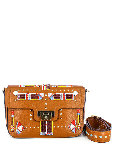 Женская демисезонная сумка ash коричневая Артикул 7ah.ah63082.т в интернет магазине итальянских сумок ASHRUSSIA.RU