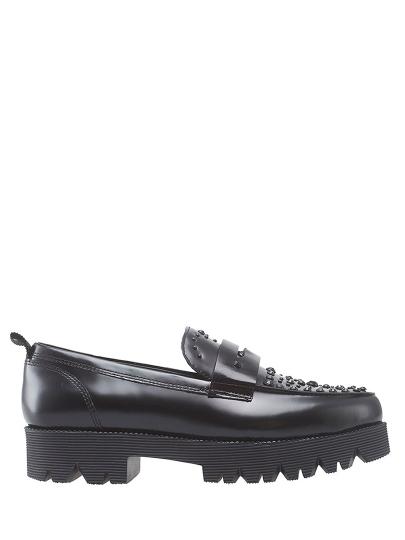Женские демисезонные туфли ash nova черные   4ah.ah49694.k купить в официальном магазине AshRussia.ru