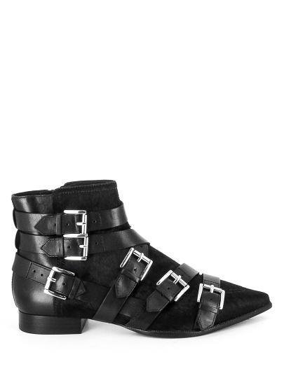Женские демисезонные ботинки ash blast fw17-m-119663-001,ботинки женские,велюр/кожа _черный черные | 6ah.ah58694.k купить в официальном магазине AshRussia.ru