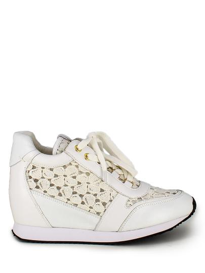 Женские демисезонные кроссовки ash dream lace (ss16-s-108383-002),кроссовки женские,кожа/текстиль _белый белые | 3ah.ah46810. купить в официальном магазине AshRussia.ru