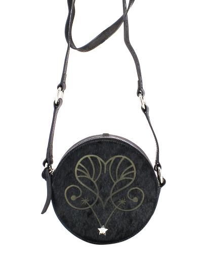 Женская всесезонная сумка ash черная Артикул 6ah.ah58792.т в интернет магазине итальянских сумок ASHRUSSIA.RU