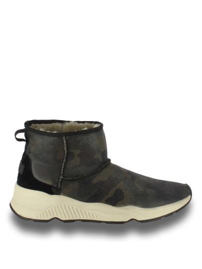 Мужские зимние ботинки ash mowgli черные   4ah.ah49799.m купить в официальном магазине AshRussia.ru