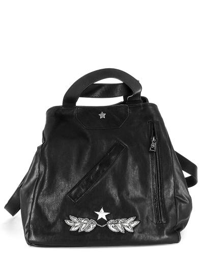 Женская всесезонная сумка ash черная Артикул 6ah.ah58779.т в интернет магазине итальянских сумок ASHRUSSIA.RU