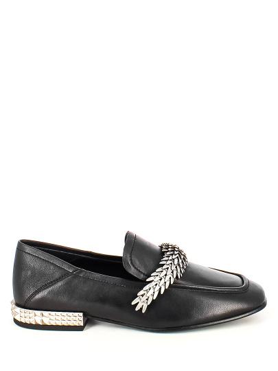 Женские демисезонные туфли ash edgy ss18-m-123283-001,туфли закрытые женские,кожа _черный/серебряный черные | 7ah.ah63176.k купить в официальном магазине AshRussia.ru
