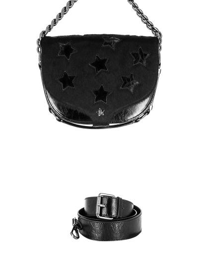 Женская всесезонная сумка ash черная Артикул 6ah.ah58789.т в интернет магазине итальянских сумок ASHRUSSIA.RU