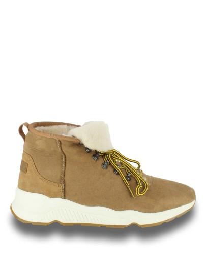 Мужские зимние ботинки ash monk коричневые | 4ah.ah49794.m купить в официальном магазине AshRussia.ru