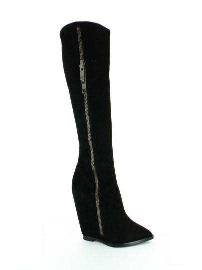 Женские демисезонные сапоги ash joyce(fw14-m-104942-001),сапоги женские,велюр/кожа черный черные | 0ah.ah35994.k купить в официальном магазине AshRussia.ru