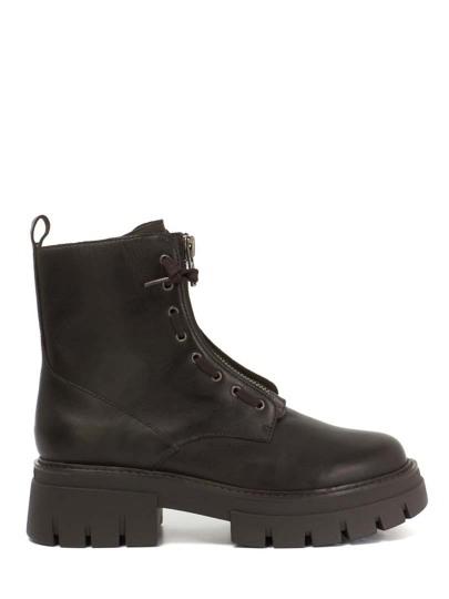 Женские демисезонные ботинки ash lynch черные   5ah.ah107698.k купить в официальном магазине AshRussia.ru