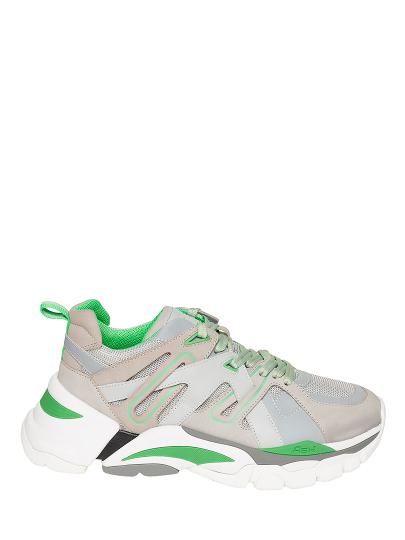 Мужские демисезонные кроссовки ash free ss19-me-128399-004,кроссовки мужские,нубук/текстиль/кожа серый/серебряный/зеленый  | 9ah.ah75800.т купить в официальном магазине AshRussia.ru