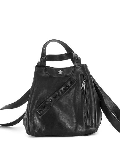 Женская всесезонная сумка ash черная Артикул 6ah.ah58786.т в интернет магазине итальянских сумок ASHRUSSIA.RU