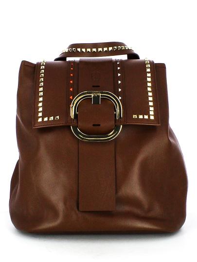 Женский демисезонный рюкзак ash коричневый Артикул 5ah.ah54132. в интернет магазине итальянских сумок ASHRUSSIA.RU