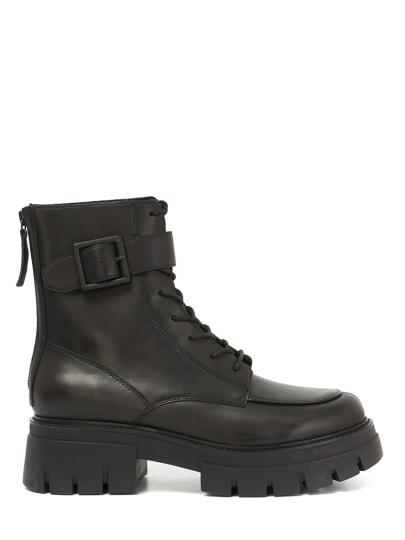 Женские демисезонные ботинки ash lewis черные | 5ah.ah109473.k купить в официальном магазине AshRussia.ru