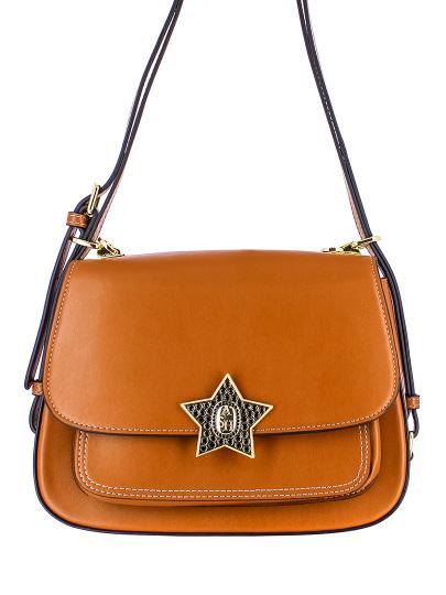 Женская демисезонная сумка ash коричневая Артикул 7ah.ah63085.т в интернет магазине итальянских сумок ASHRUSSIA.RU
